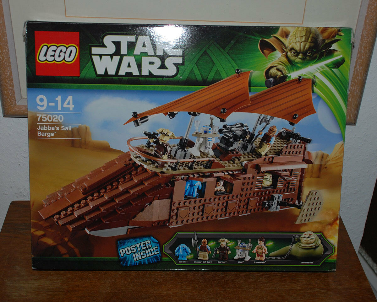 Lego Star Wars 75020 Jabbas Sail Barge