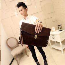 Fashion Man's Faux Leather Wallets Clutch Bag Wallet Business Purse Bags