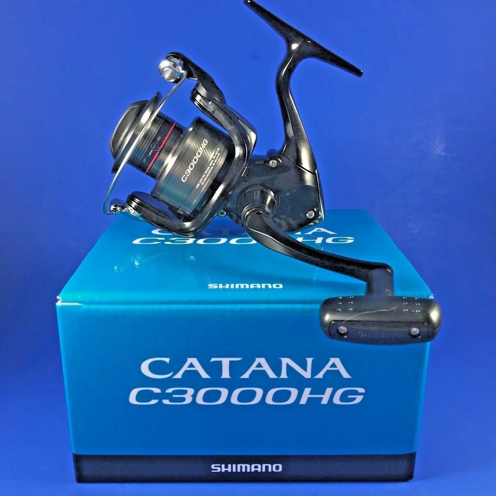 Shimano Catana C3000HG FD    CATC3000HGFD    Front Drag Fishing Reel