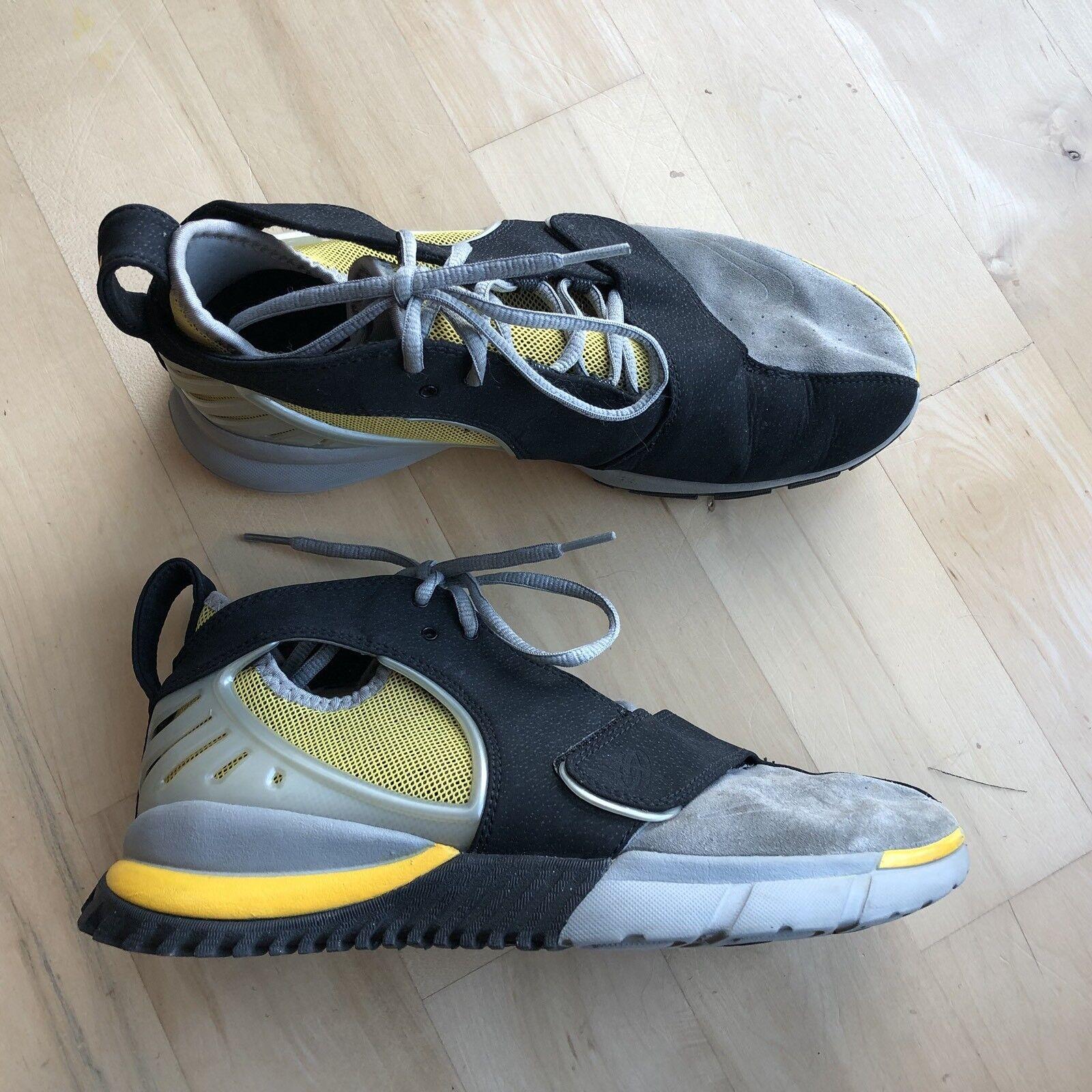 quality design 13c76 dada1 Ht2k6 2018 Nike 7,5 zapatos Air Trainer huarache amarillo gris negro 313373  7,5 Nike estacional de liquidación 6be554