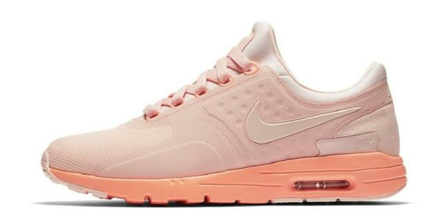 Nike Women s W Air Max Zero 0 857661-601 Sunset Tint Pink DS Size 6 ... a31ff39b4