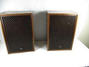 Sansui-SP-3000-Floor-Speakers-Vintage-5-Way-Home-Audio-Old-Stereo-Solid-Wood
