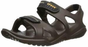 Crocs-Mens-Swiftwater-Sandals-Closure-Slip-ons-Beach-Summer-Shoes-Sizes-UK-11-12