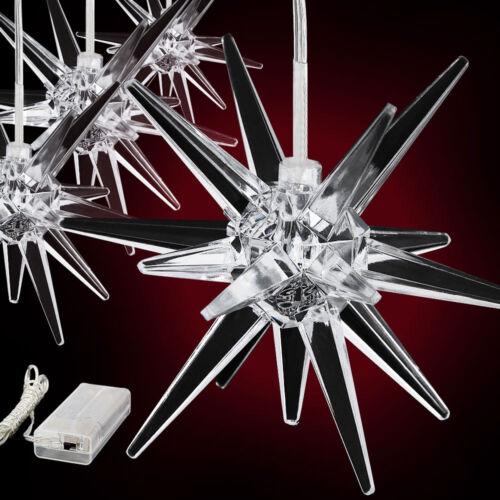 4x Weihnachtsstern Led Leuchtstern Polarstern Weihnachtsschmuck Stern Deko Licht