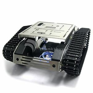 Smart-Car-Tank-Chassis-Wifi-Robot-Kit-w-Gimbal-Camera-for-iOS-Arduino-Android
