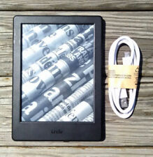 Amazon Kindle Basic (8th Generation) WiFi, 4GB, 6in Black eReader (Blacklisted)