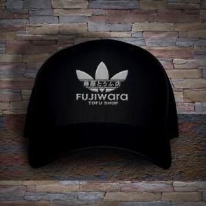 6005ff77239 Image is loading Fujiwara-Tofu-Shop-Initial-D-Embroidered-Adjustable-Ball-