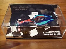 1/43 JORDAN HART 193 EDDIE IRVINE F1 GP DEBUT SUZUKA OCTOBER 23rd 1993