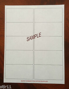 Details about 120 Blank Shipping Labels 2