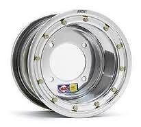 DWT Alumilite YELLOW LABEL ATV Rear Beadlock Wheel 10x8 3+5 4//110 TRX LTR KFX