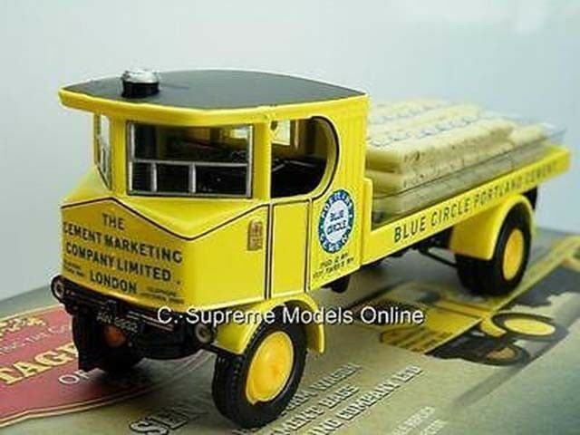SENTINAL STEAM MODEL LORRY blueE CIRCLE 1 50TH SIZE FLATBED EXAMPLE PKD T3412Z(=)