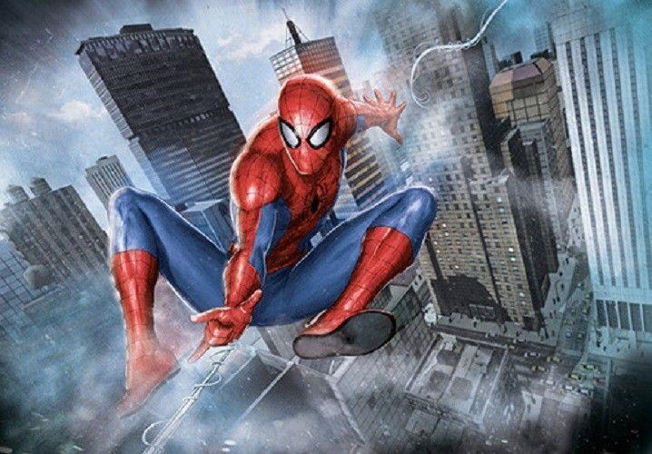 1000 Piece Jigsaw Puzzle Marvel Spiderman Bromide Home Decoration_NV