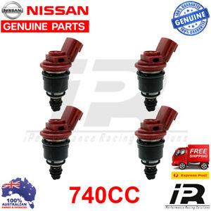 4-x-740cc-fuel-injectors-for-Nissan-Nismo-Silvia-200sx-S13-S14-S15-SR20DET-RR544