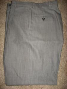 Para Hombre Lt Oliva Forrado Lana Pantalones De Vestir Pierre Cardin 33 X 31 Ebay