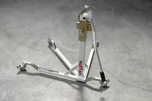Bursig Motorcycle Center Lift Stand Paddock Garage Olympic