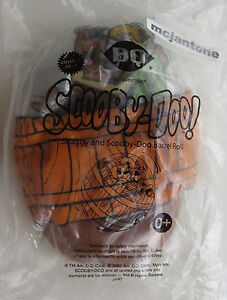 MIP-Dairy-Queen-2002-DQ-Scooby-Doo-amp-SHAGGY-BARREL-ROLL-Inflatable-BALL-Dog