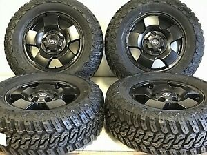 TOYOTA-TUNDRA-18-034-OEM-RIMS-TIRES-OFFROAD-LOOK-AND-OEM-DURABILITY-SATIN-BLK-5X150