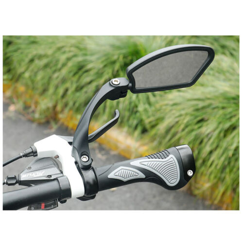 1 Pair Right /& Left Bicycle Bike Cycling Handlebar Rear View Rearview Mirror UK