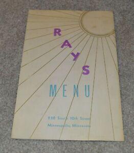 Vintage-Ray-039-s-Restaurant-menu-Minneapolis-Minnesota-210-South-10th