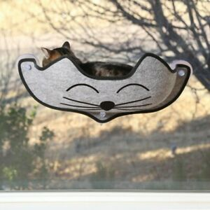EZ Mount Window Kitty Face Grey - Kitty Bed - Cosy Kitty