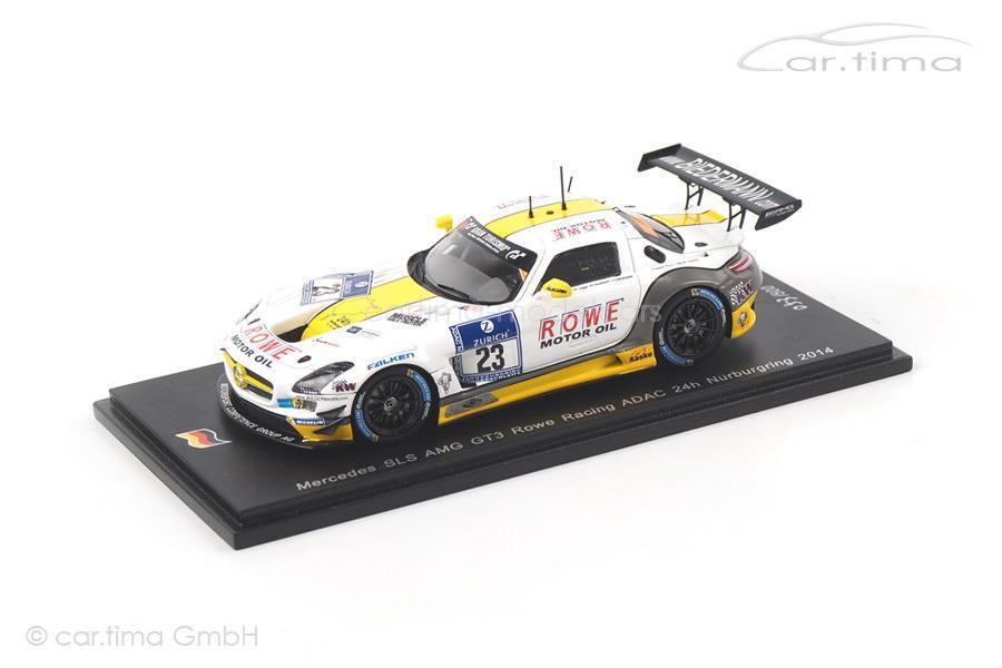 Mercedes SLS AMG gt3 - 24h Nürburgring 2014-Count Seyffarth Hunter goranss