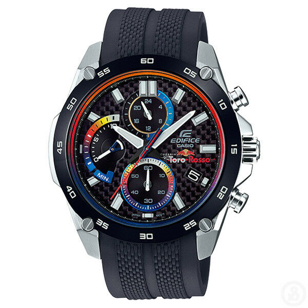 4179b5597ece Casio Edifice X Scuderia Toro ROSSO F1 Red Bull Racing Watch Efr-557trp-1a  for sale online