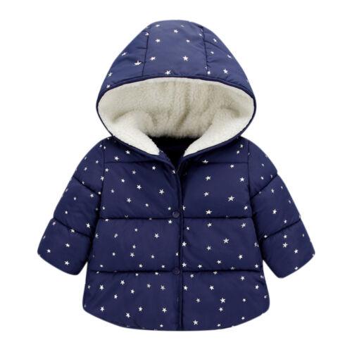 Children Kids Baby Girl Boy Casual Fashion Windproof Coat Jacket Warm Outerwear