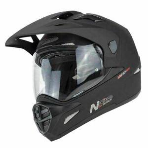 Nitro Mx670 Uno Dvs Adventure Tout Terrain Casque Moto Noir Mat Ebay