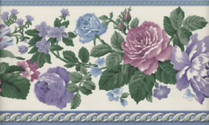 Wallpaper Roll Arts Roses Medieval Victorian Art Nouveau Edwardian 24in x 27ft