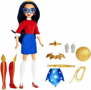 Wonder-Woman-Action-Figure-Doll-DC-Super-Hero-Girls-Teen-to-Super-Life-2-in-1