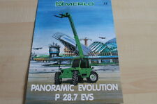127599) Merlo Panoramic Evolution P 28.7 EVS Prospekt 01/1999
