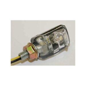 212637-MOTO-LUCE-TARGA-a-LED-illuminazione-picco-nero-coppia-e-PEC