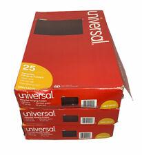 3 Boxes Universal Legal Hanging File Folders Green 25box 15 Tab Unv14215