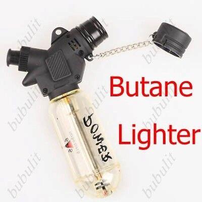 Windproof Refillable Jet Flame 1300-C Butane Cigarette Welding Torch Lighter G