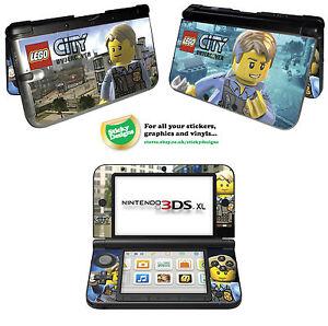 ... Lego City Undercover Peau Vinyle Autocollant Pour Nintendo