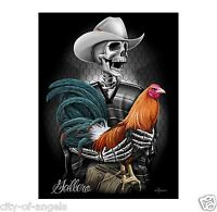 Gallero Cockfighting Fighting Rooster By David Gonzales Art Dga 18 X 24 Poster
