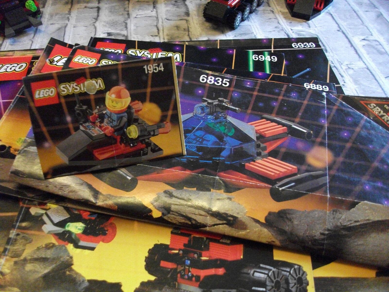 LEGO Space  Spyrius  6949 , 6939 , 6889 , 6835 , 1954