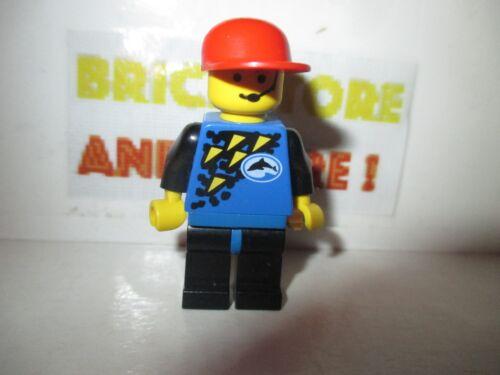 City Minifigures Lego Set 6559 Diver Blue Red Cap div013