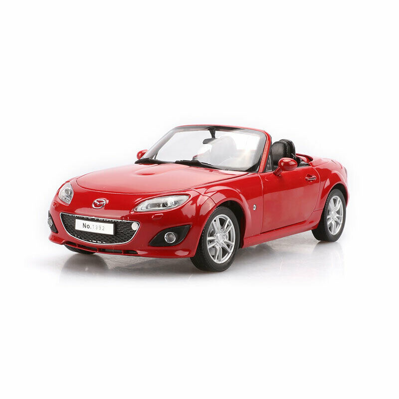 1 18 Mazda MX-5 Cabriolet Sports Coche Model Coche Diecast Gift Vehicle Collection