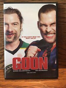 Goon-DVD-Disc-VG-Sean-William-Scott-Liev-Schreiber-Hockey-Fights-Comedy