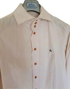 Mens-chic-MAN-by-VIVIENNE-WESTWOOD-long-sleeve-shirt-size-III-medium-RRP-260