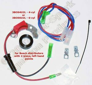 electronic ignition conversion for mercedes 6 cyl left pivot pointsimage is loading electronic ignition conversion for mercedes 6 cyl left