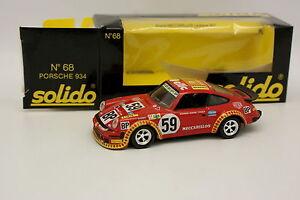 Solido-1-43-Porsche-911-934-Meccarillos-Le-Mans-1977