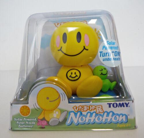 Tomy Nohohon Sunshine Buddy Solar Powered Figure Bobble Head Happy Face 2003
