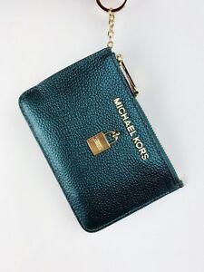 8825dfd137fd Michael Kors Jet Set Travel Zip Coin Wallet ID Keyring Card Holder ...