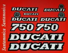 DUCATI SANTAMONICA 750  MODEL  PAINTWORK DECAL KIT
