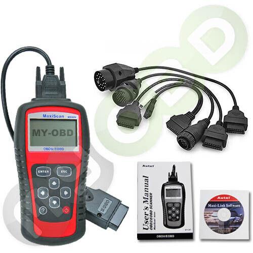 OBD-509 Diagnosegerät ink OBD-I Adapterset Für Fiat Ford Honda Hyundai Daihatsu