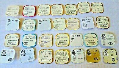 Bastler Lot Mit älteren,neuwertigen Teilen Für Eta,armbanduhrwerke,bb 3 Um Der Bequemlichkeit Des Volkes Zu Entsprechen
