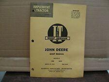 1960 John Deere Tractor I&T Shop Service Manual Vintage # JD-18 Models 435D....