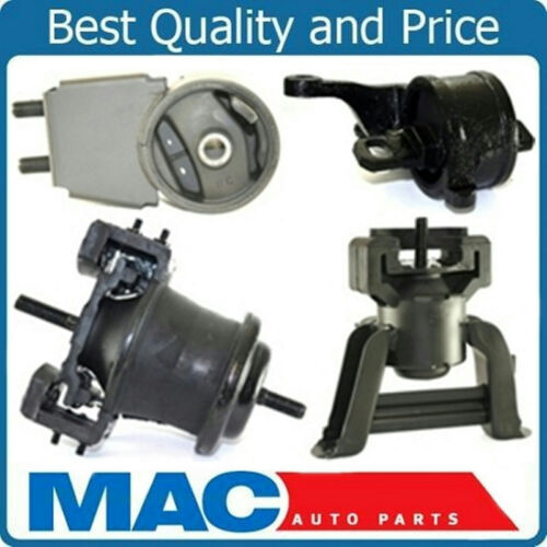 1 Engine Motor Mount 3 Transmission Mount 4pc Kit 97-00 Mazda Millenia 2.5L